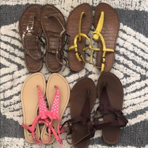 Shoes - (4x) Thong Sandals